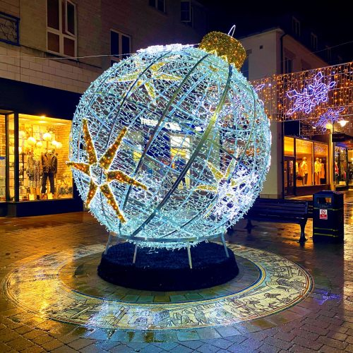 Bauble Outdoor Christmas Lights