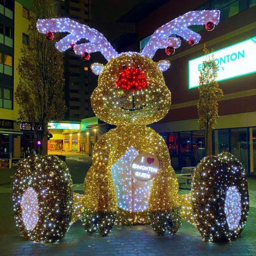 Reindeer Christmas Lights